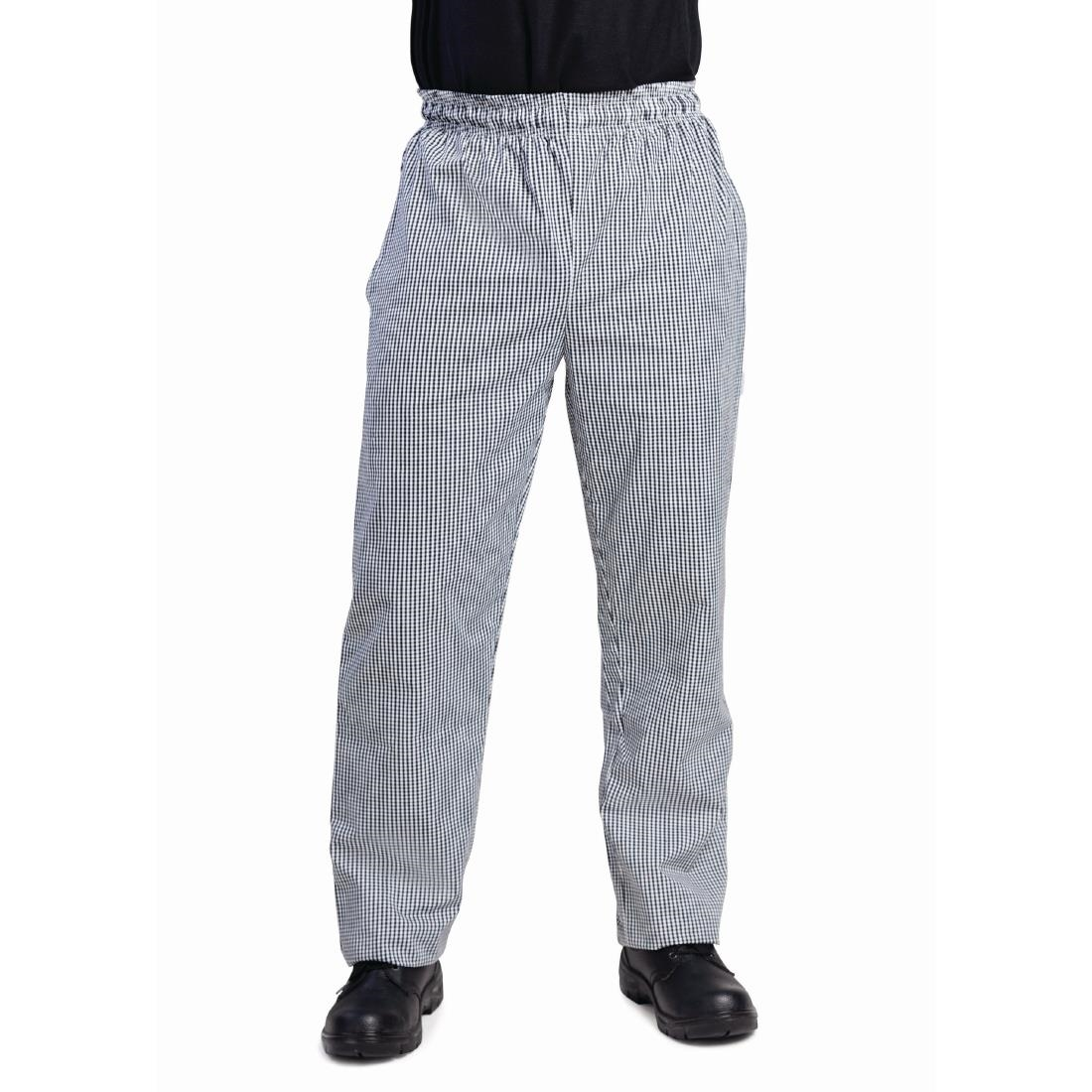 Click to view product details and reviews for Whites Unisex Vegas Chefs Trousers Black And White Check Xl.
