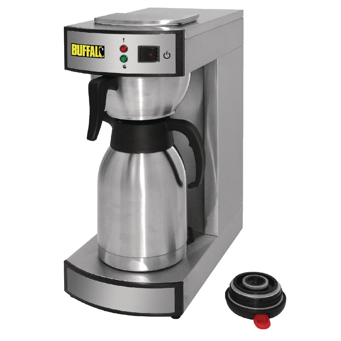 Electronic Buffalo Coffee Machine buffalo pour on coffee machine dn487 buy online at nisbets browse our full range