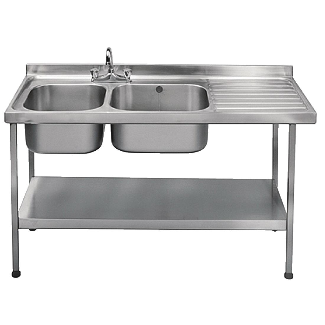 ... Franke Sissons Self Assembly Stainless Steel Double Sink
