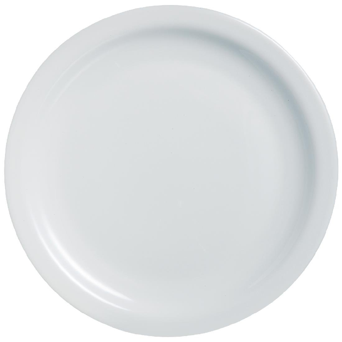 Image of Arcoroc Opal Hoteliere Narrow Rim Plates 155mm (Pack of 6) Pack of 6