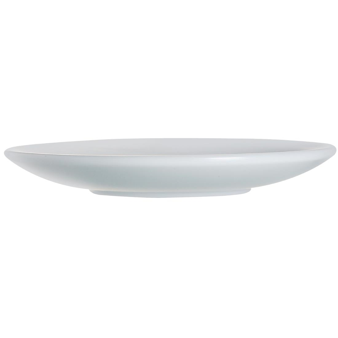 Image of Arcoroc Opal Saucers 144mm (Pack of 6) Pack of 6