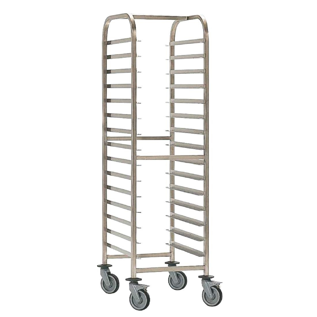 Image of EAIS Stainless Steel Trolley 15 Shelves