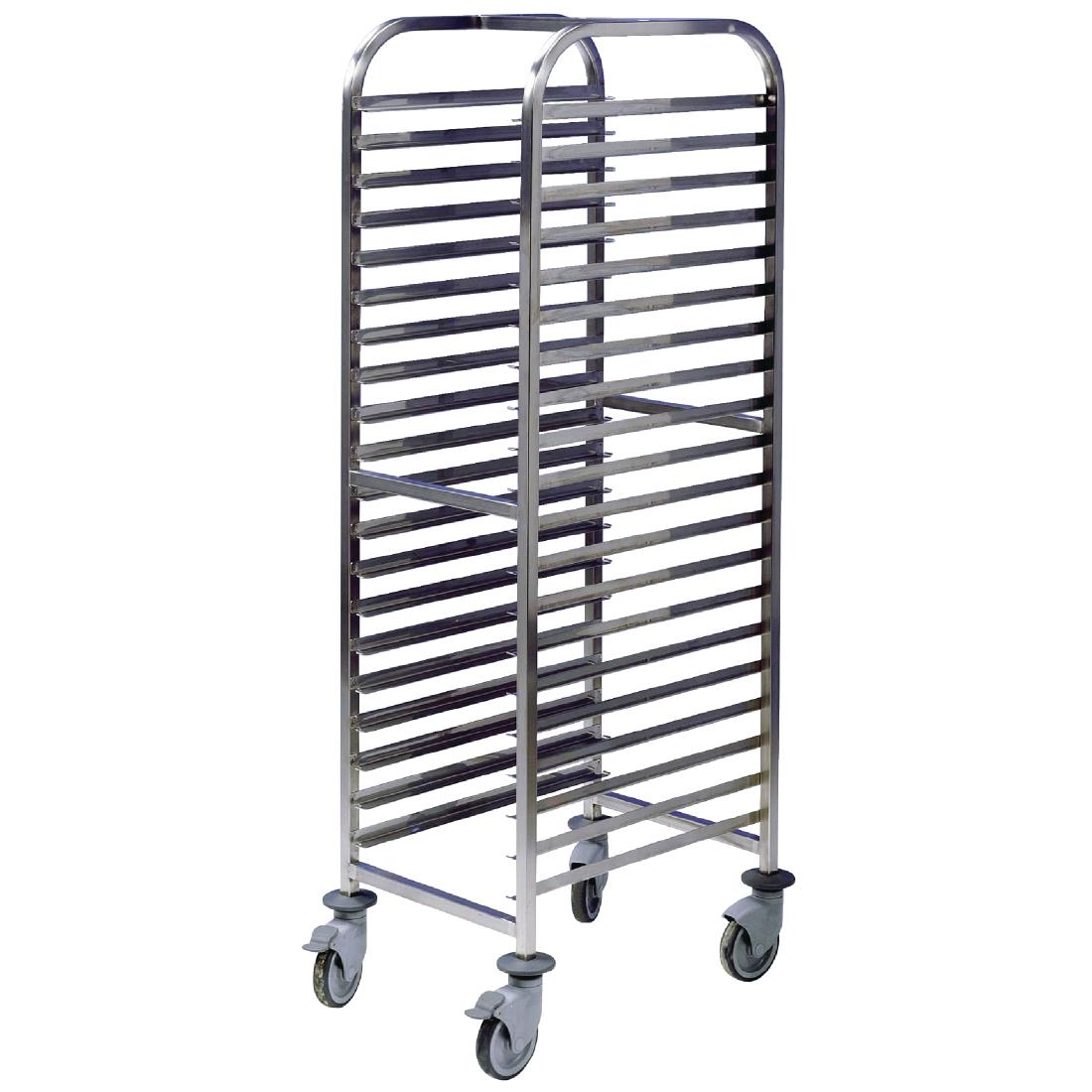 Image of EAIS Stainless Steel Trolley 20 Shelves
