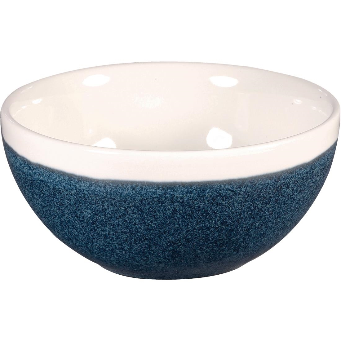 Click to view product details and reviews for Churchill Monochrome Soup Bowl Sapphire Blue 160mm Pack Of 12 Pack Of 12.