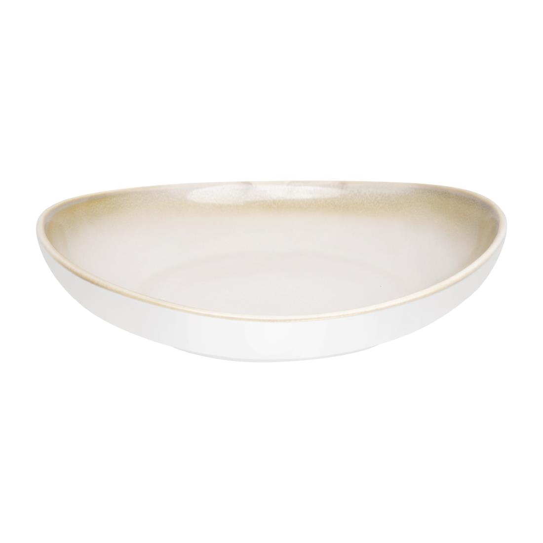 Olympia Birch Taupe Wide Bowls 208mm Pack of 6