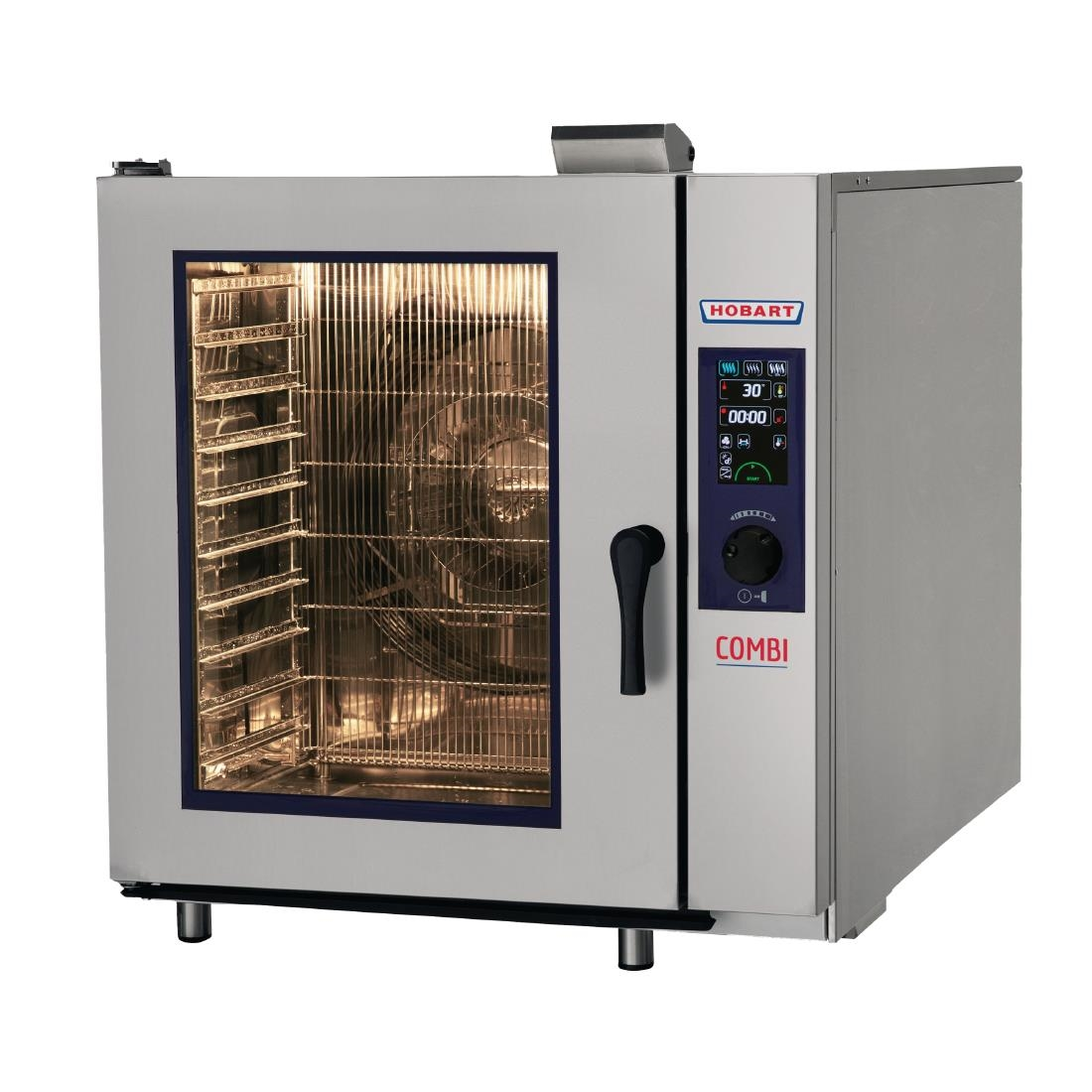 Hobart COMBI 10 x 2/1 or 20 x 1/1 GN Tray Electric Combi Oven HEJ102E