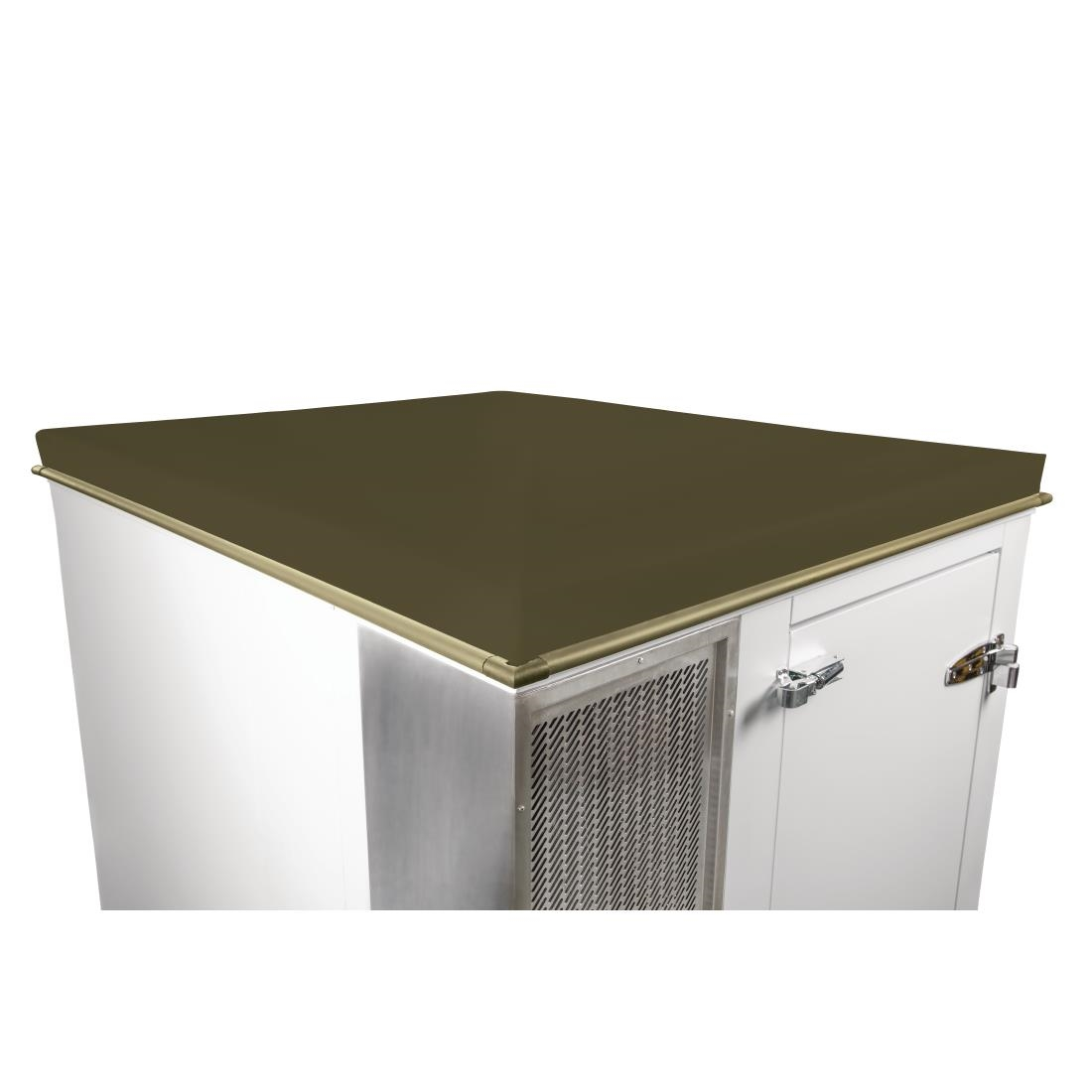 Image of Polar Weatherproof Roof For DS480 Cold Room Olive Green
