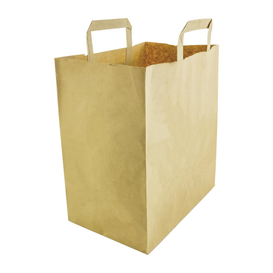 Vegware Compostable Large Recycled Paper Bags Pack of 250