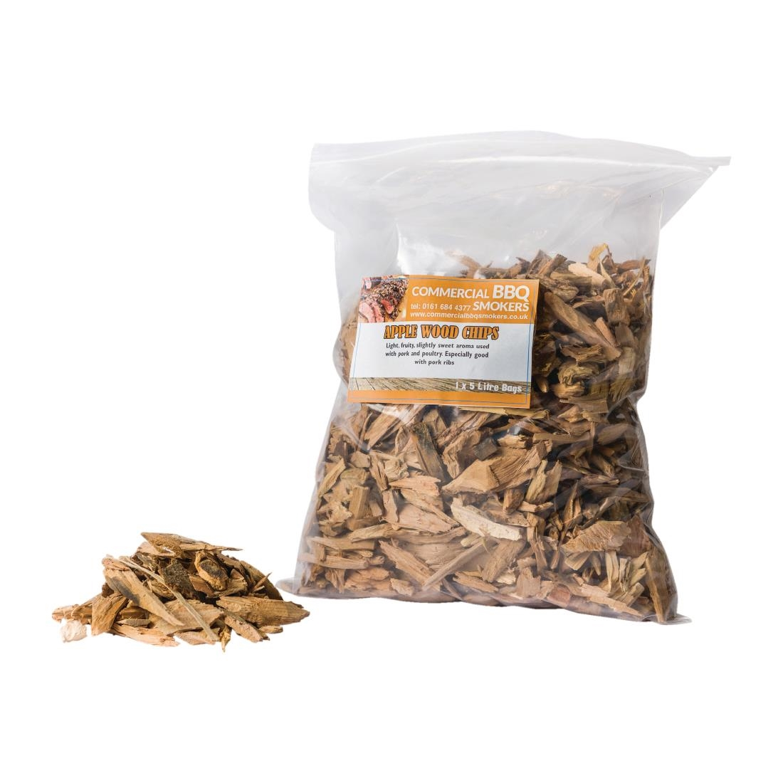 Blackwood Smoking Chips Apple 5 Litre Bags (Pack of 4) Pack of 4