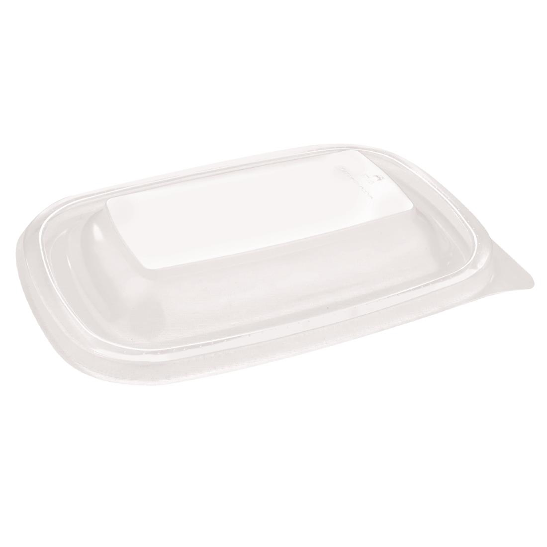 Image of Fastpac Small Rectangular Food Container Lids 500ml / 17oz