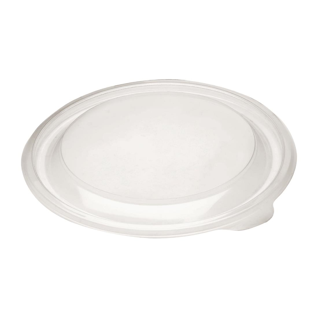 Image of Fastpac Small Round Food Container Lids 375ml / 13oz (Pack of 500) Pack of 500