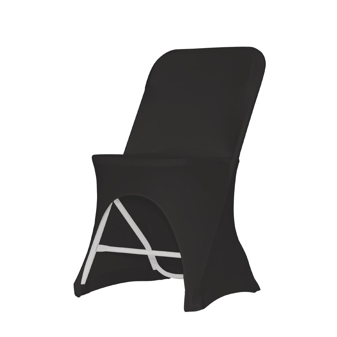 Image of ZOWN Alex-K Side Chair Stretch Cover Black