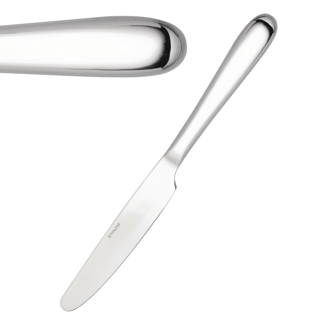 Utopia Manhattan Table Knives Pack of 12