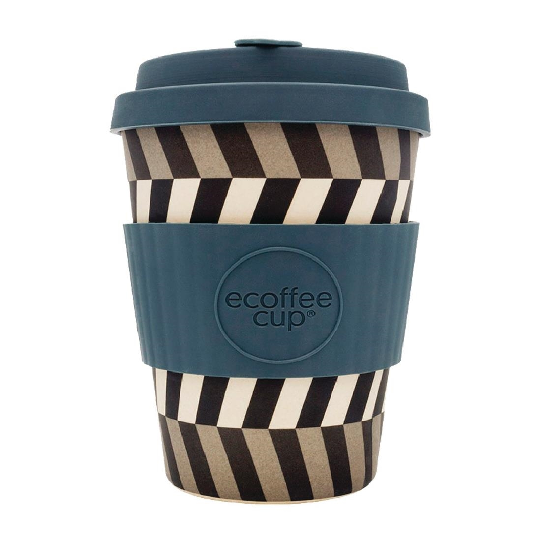 Image of Ecoffee Cup Bamboo Reusable Coffee Cup Look Into My Eyes 12oz