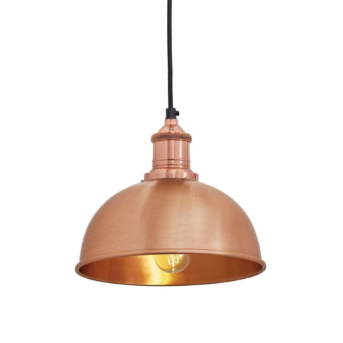 Image of Industville Brooklyn Dome Pendant Light Copper 200mm