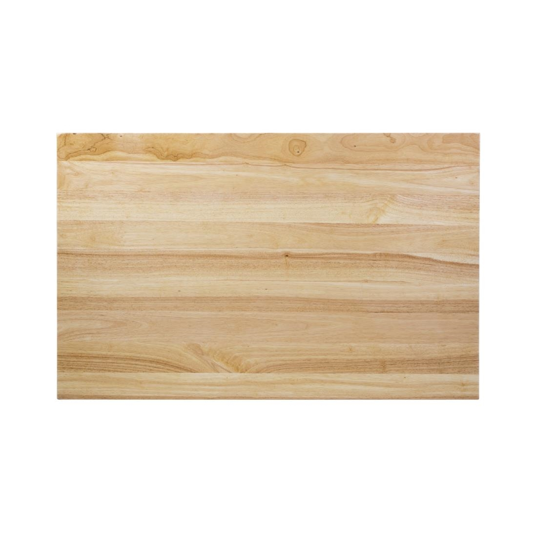 Click to view product details and reviews for Bolero Pre Drilled Rectangular Table Top Natural 1100 X 700mm.