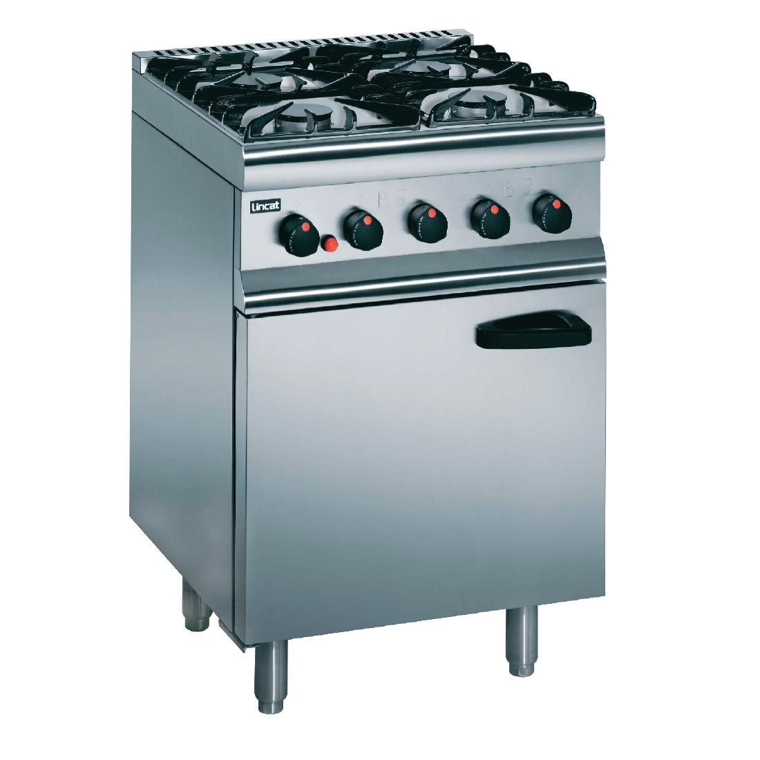 Click to view product details and reviews for Lincat Silverlink 600 Natural Gas 4 Burner Oven Range Slr6 N.