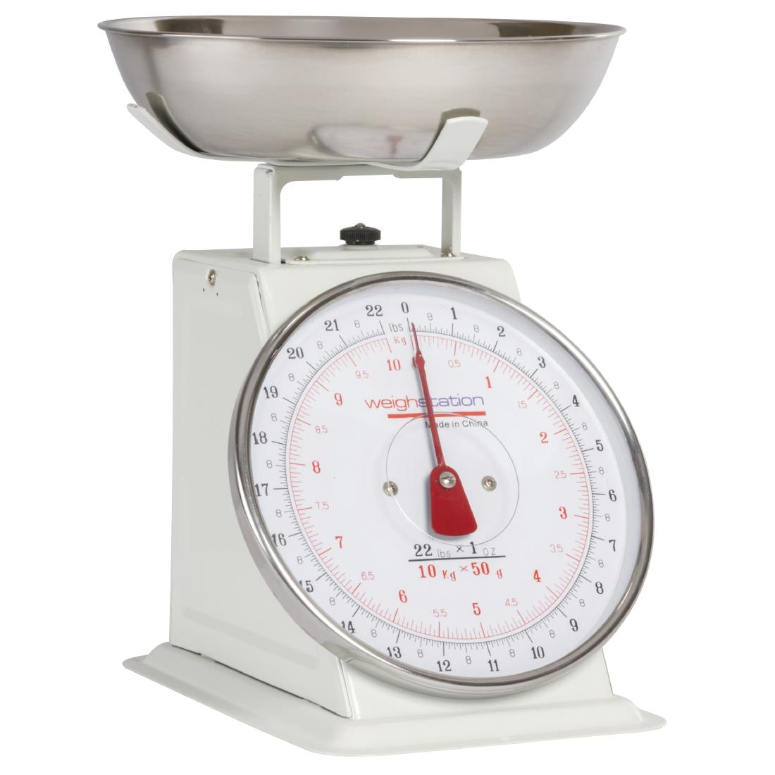 ... Weighstation Kitchen Scale Bowl Top 10kg/22lbs   Gradation 50g/1oz