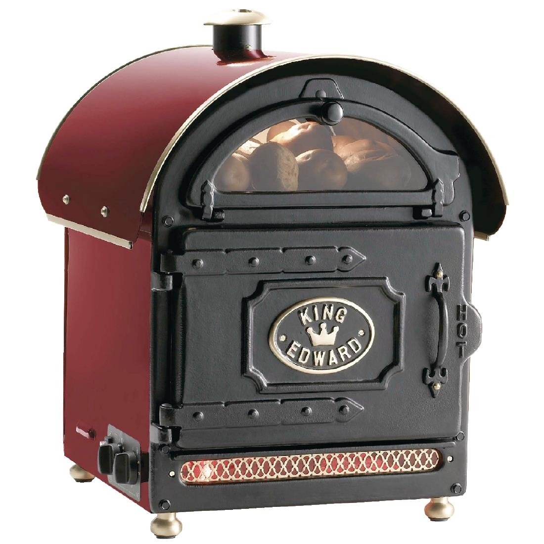 Click to view product details and reviews for King Edward Potato Baker Small Claret Pb1fv.