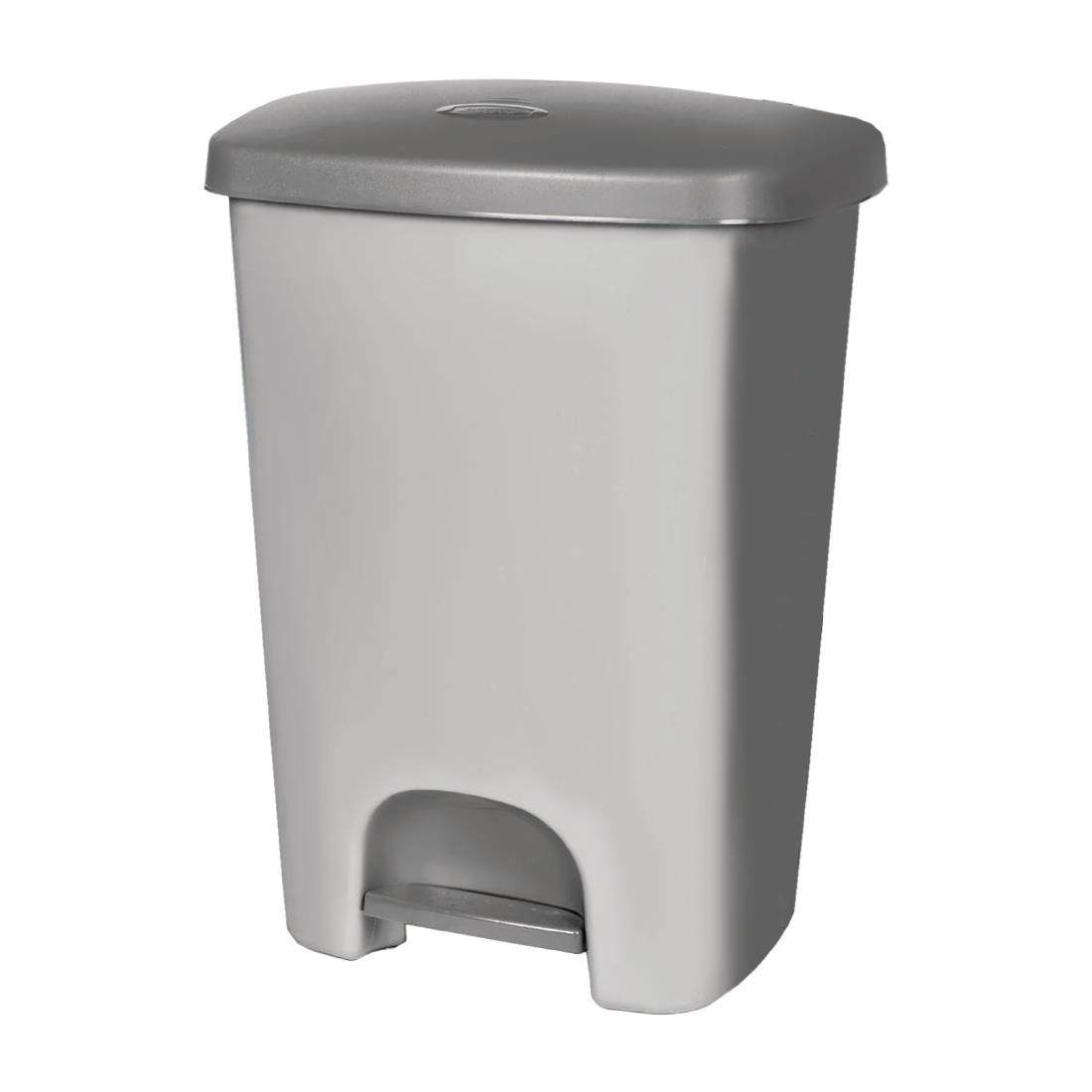 Image of Curver Kitchen Pedal Bin Grey 40Ltr