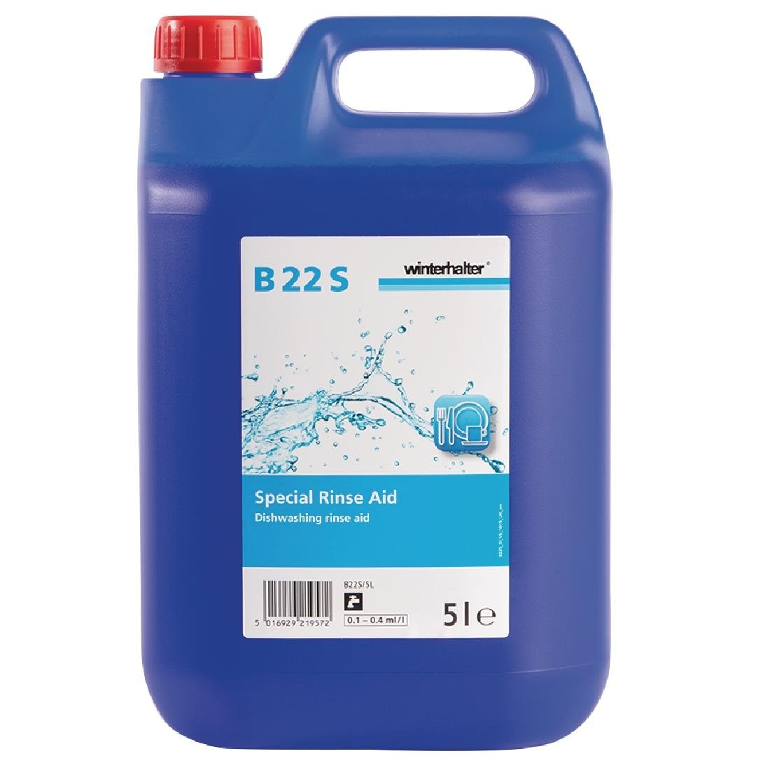 Winterhalter B22S Dishwasher Rinse Aid Concentrate 5Ltr (2 Pack) Pack of 2
