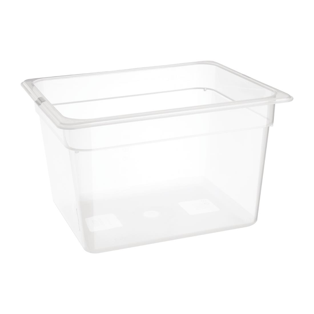 Image of Nisbets Essentials Polypropylene 1/2 Gastronorm 200mm