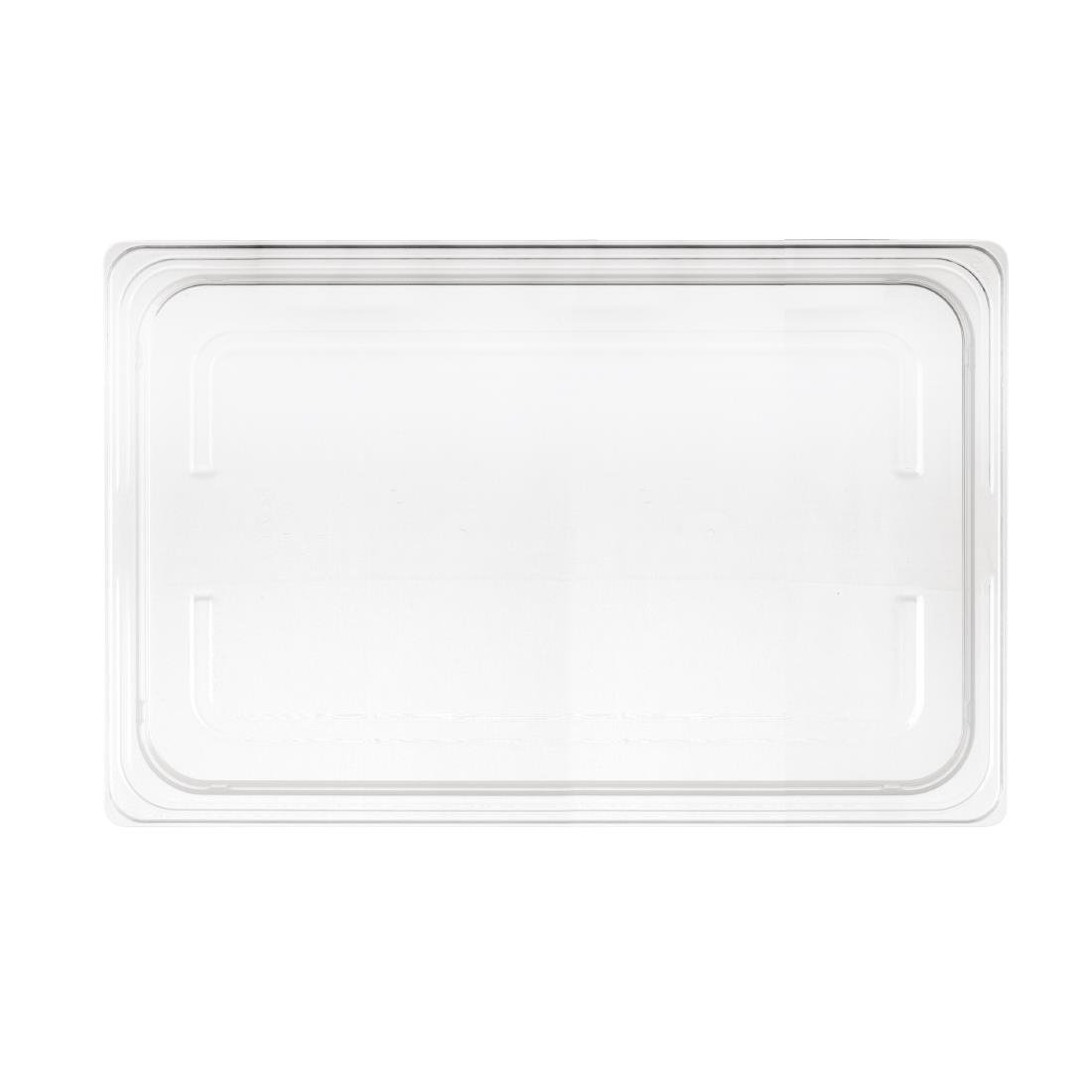 Image of Nisbets Essentials Polypropylene 1/1 Gastronorm Lid Clear
