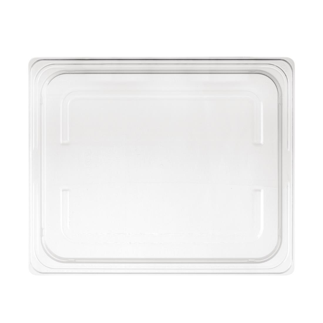 Image of Nisbets Essentials Polypropylene 1/2 Gastronorm Lid Clear