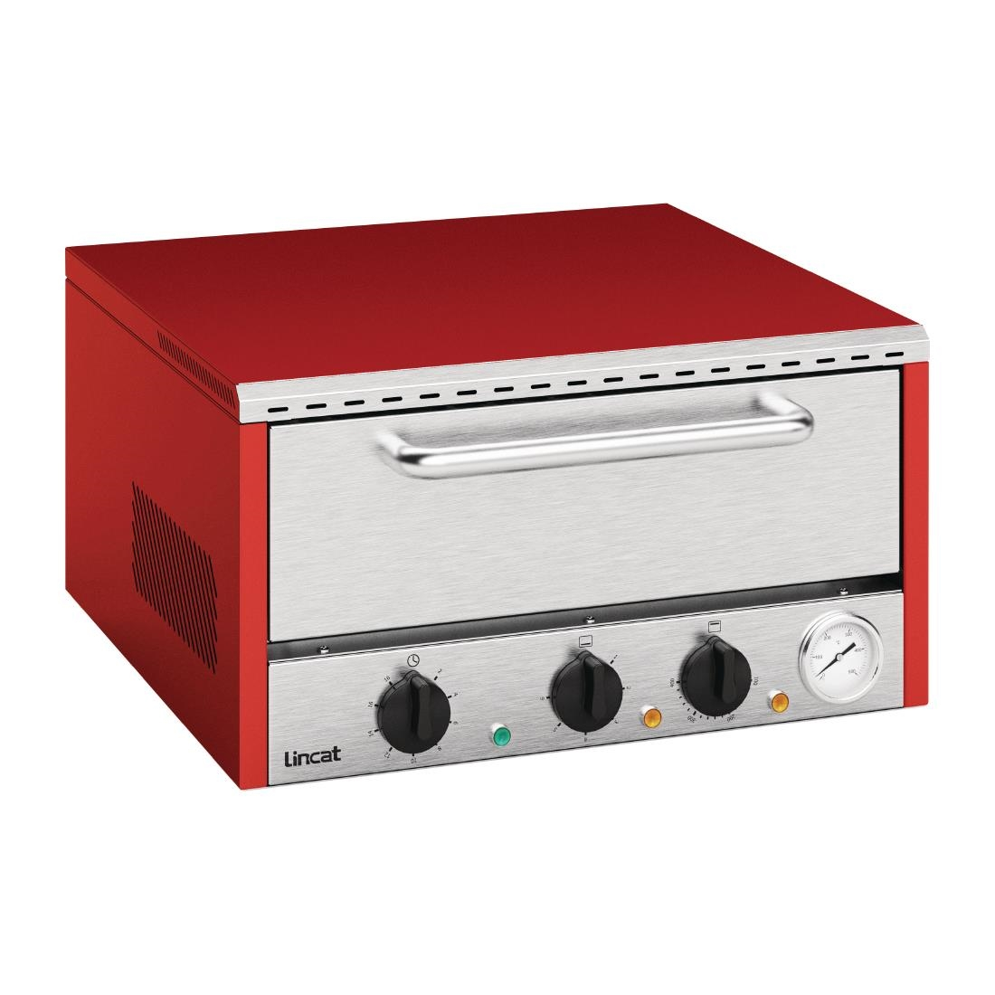 Image of Lincat Lynx 400 Pizza Oven Red LPDO