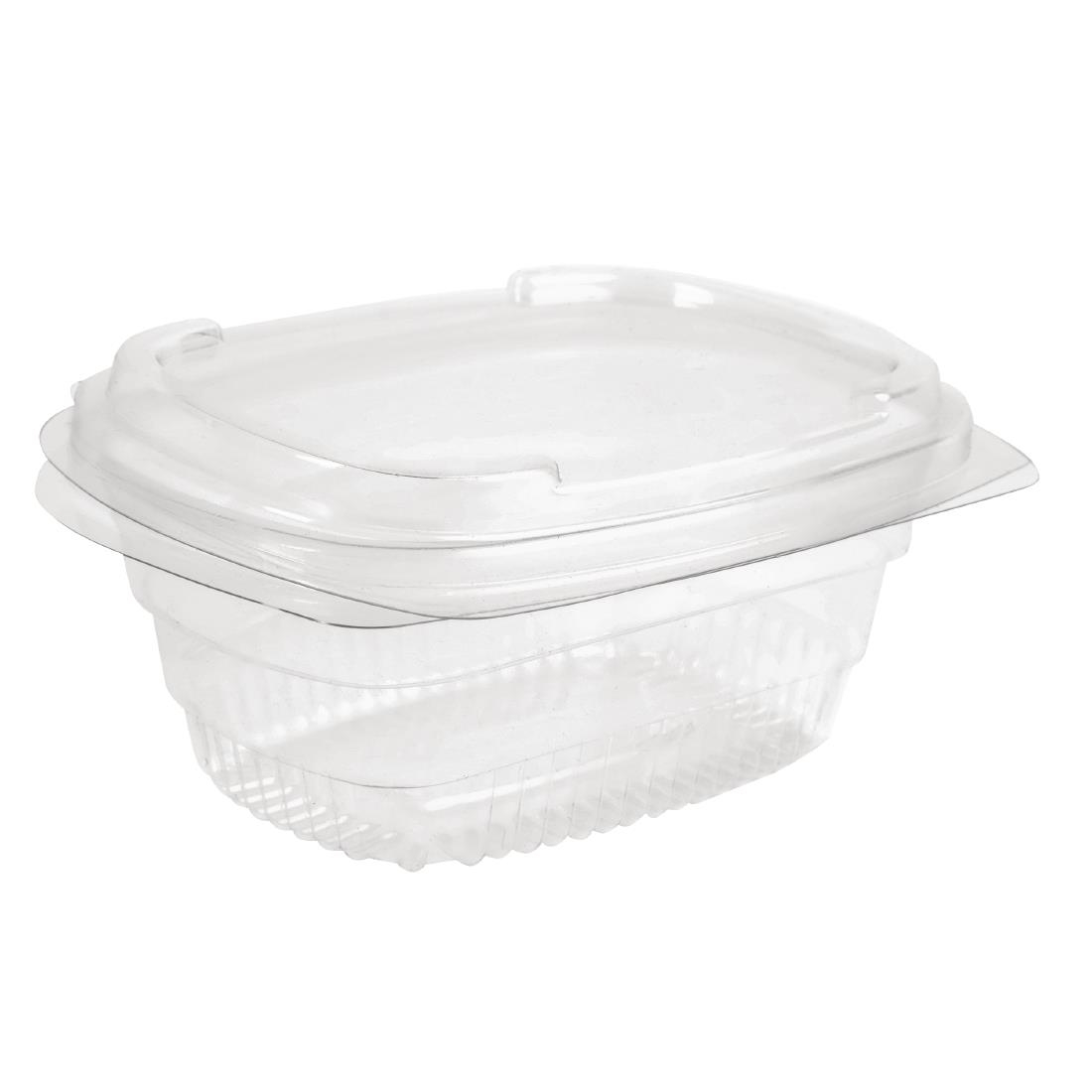 Image of Faerch Fresco Recyclable Deli Containers With Lid 250ml / 9oz (Pack of 600) Pack of 600