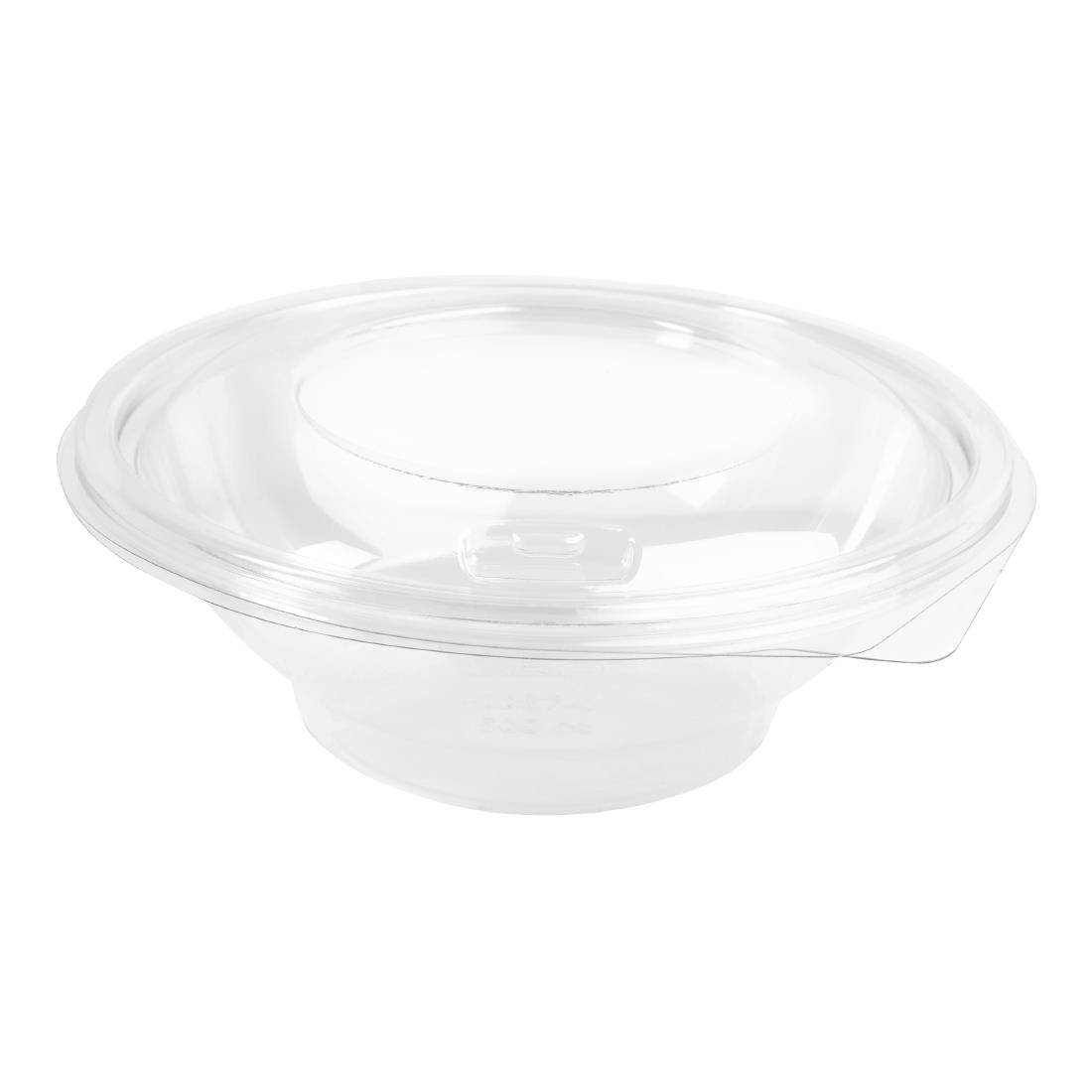 Image of Faerch Contour Recyclable Deli Bowls With Lid 500ml / 17oz (Pack of 200) Pack of 200