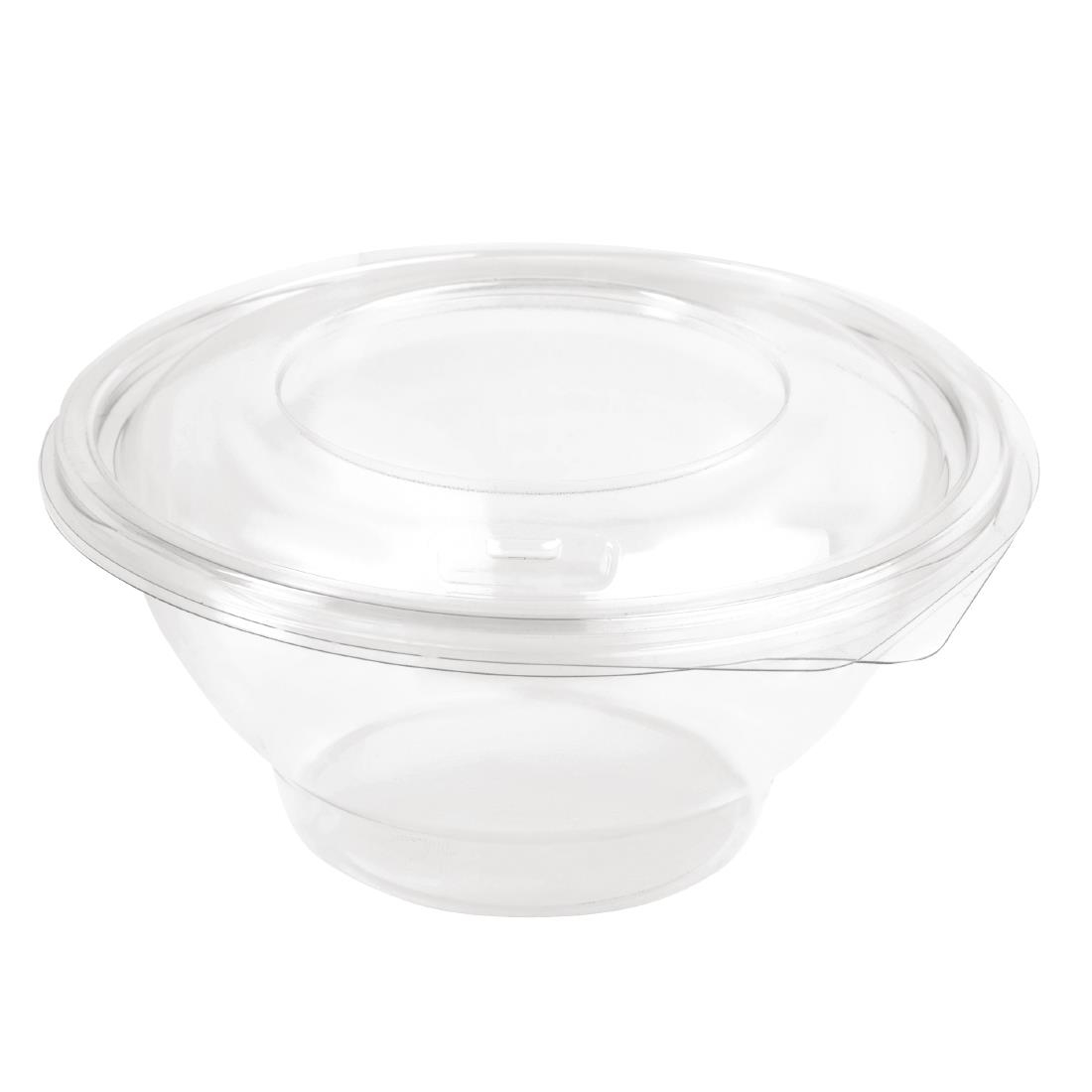 Image of Faerch Contour Recyclable Deli Bowls With Lid 750ml / 26oz (Pack of 200) Pack of 200