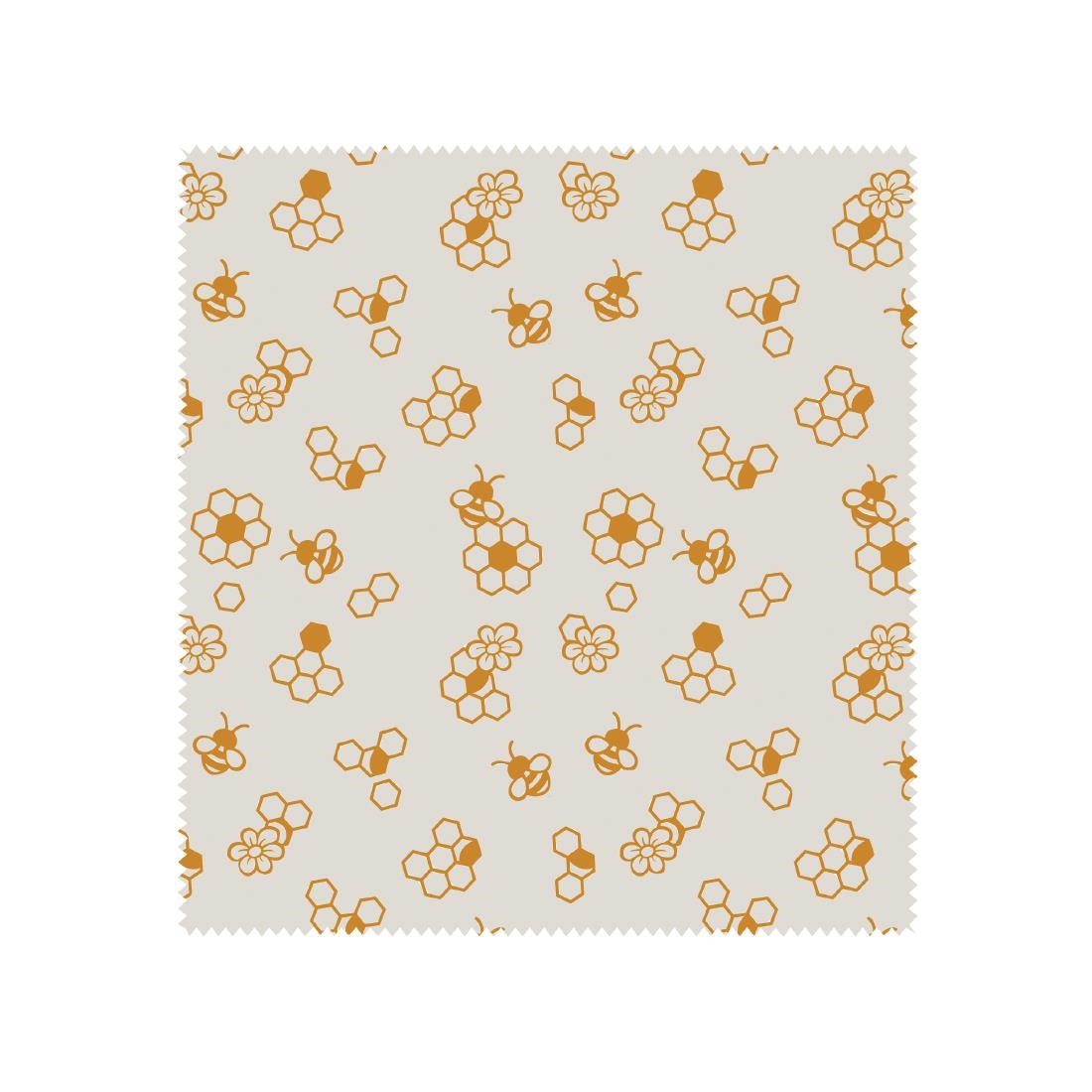 Image of Bees Wax Wrap Honeycomb Assorted (Pack of 10) Pack of 10