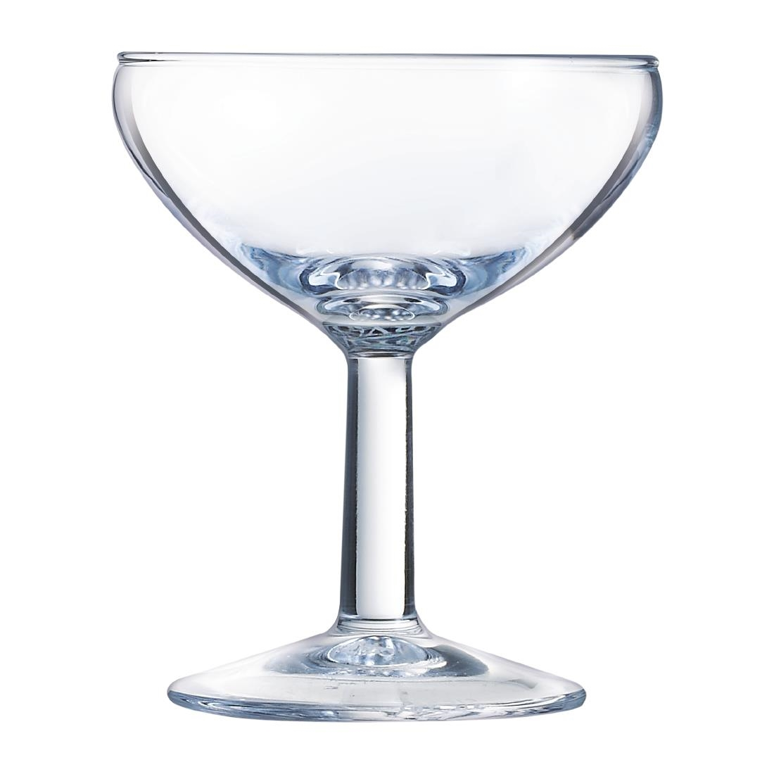 Image of Arcoroc Ballon Champagne Saucers 130ml (Pack of 72) Pack of 72
