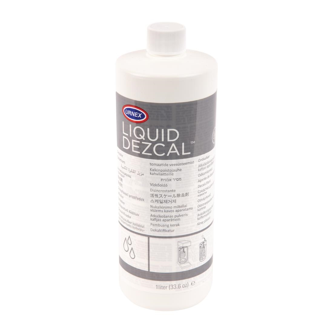 Image of Urnex Dezcal Activated Scale Remover Liquid Concentrate 1Ltr (12 Pack) Pack of 12