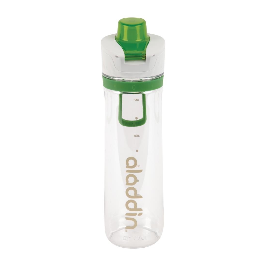 Image of Aladdin Active Hydration Reusable Water Bottle Green 800ml / 28oz