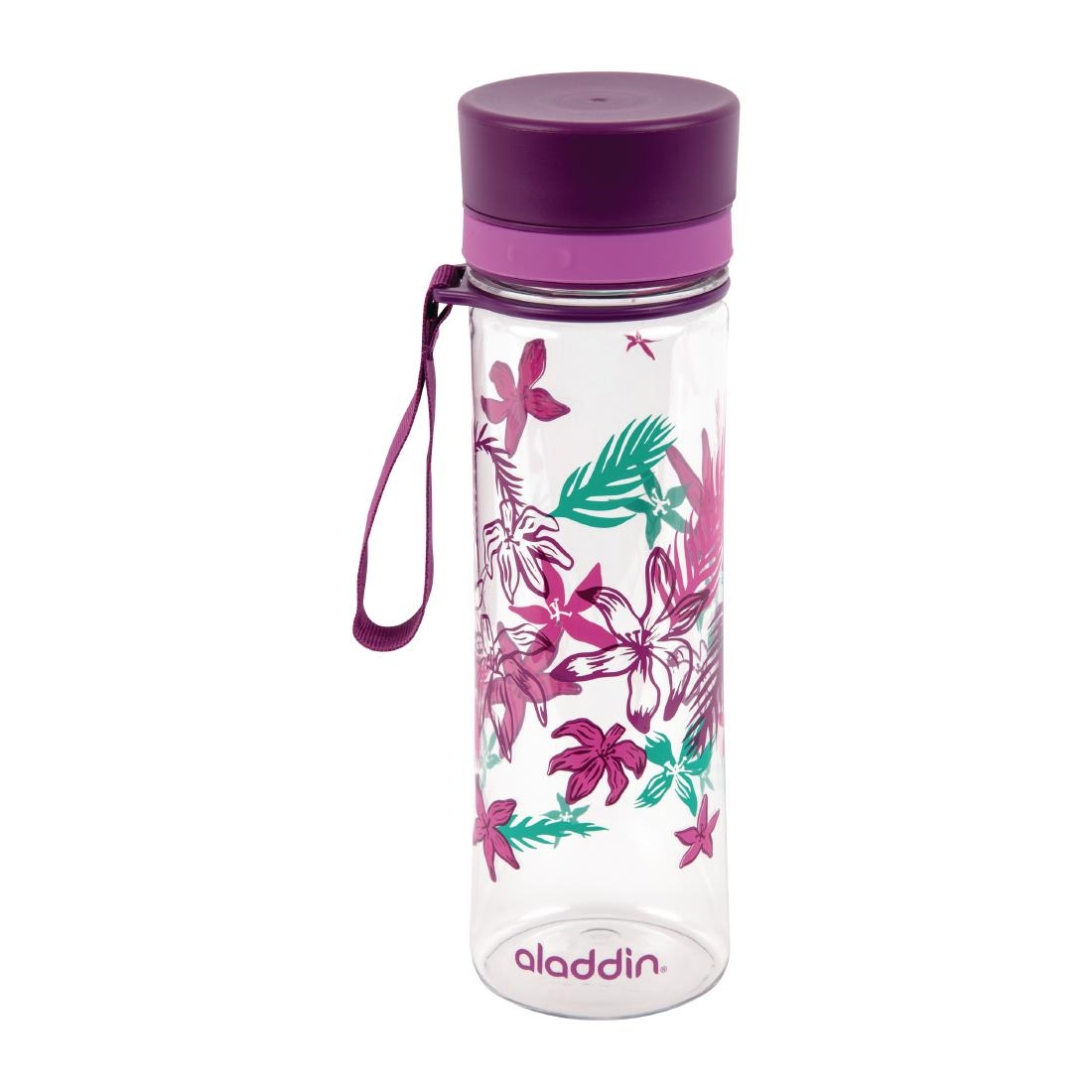 Image of Aladdin Aveo Reusable Water Bottle Purple Graphics 600ml / 21oz