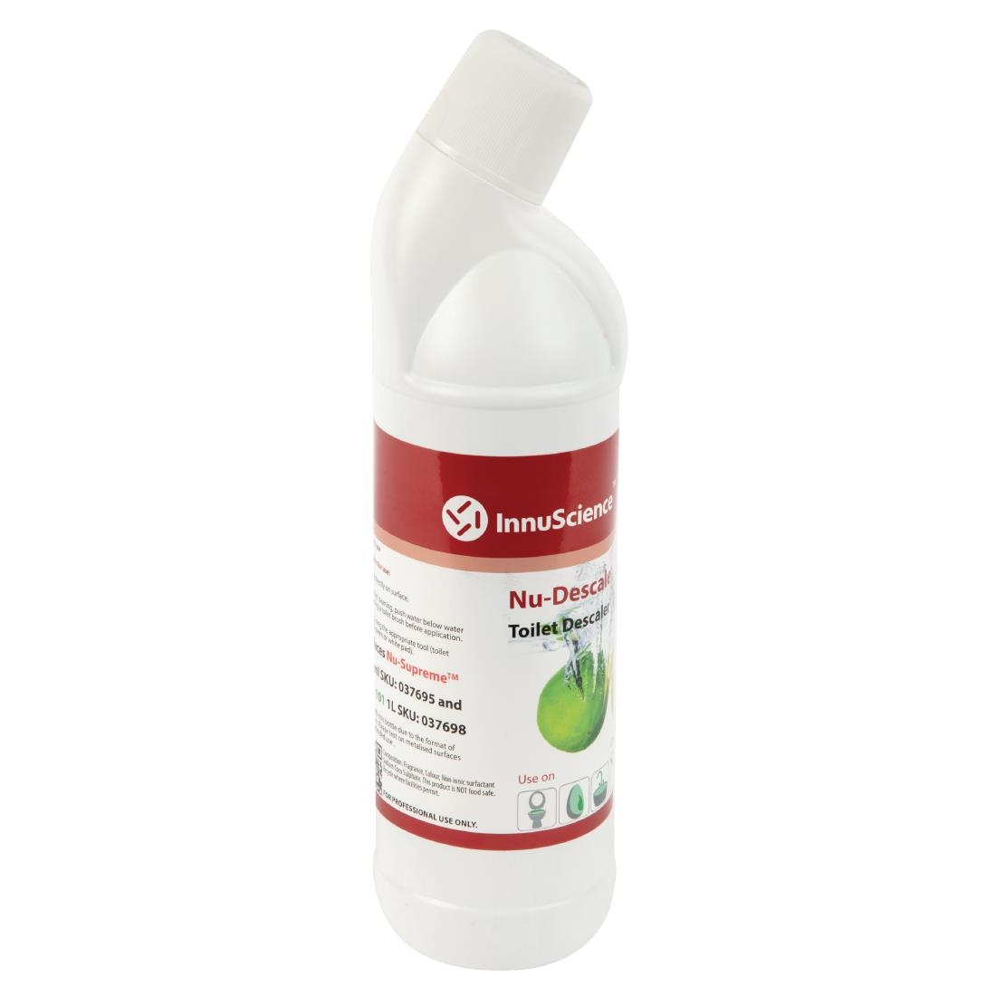 Image of InnuScience Nu-Descaler Toilet Cleaner and Descaler Ready To Use 1Ltr (12 Pack) Pack of 12
