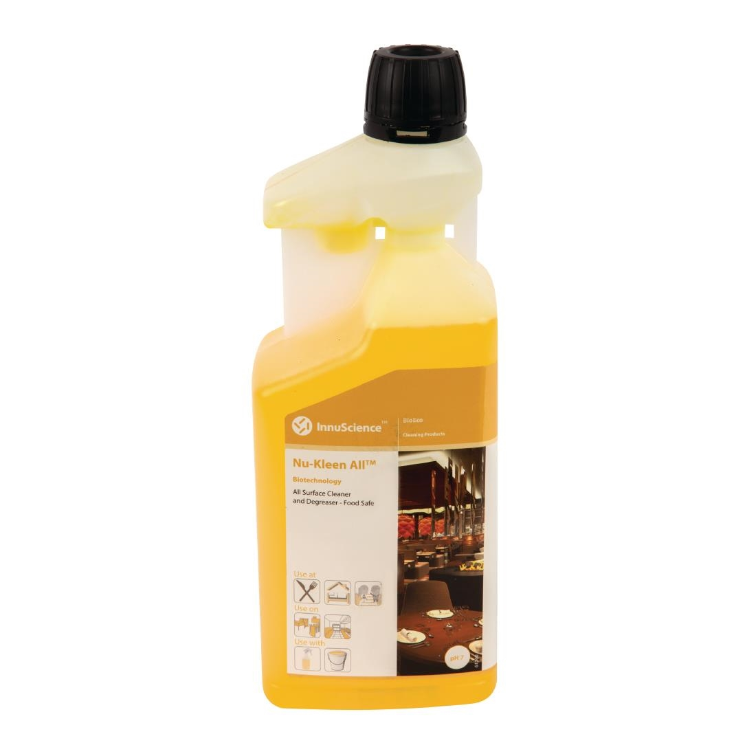Image of InnuScience One Flip Nu-Kleen All All-Purpose Cleaner Super Concentrate 1Ltr (12 Pack) Pack of 12