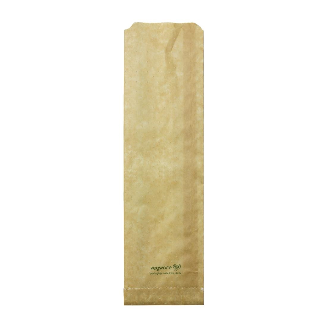 Image of Vegware Compostable Therma Paper Hot Food Bags 356 x 101mm (Pack of 500) Pack of 500