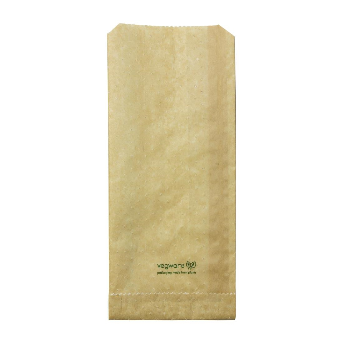 Image of Vegware Compostable Therma Paper Hot Food Bags 292 x 127mm (Pack of 500) Pack of 500