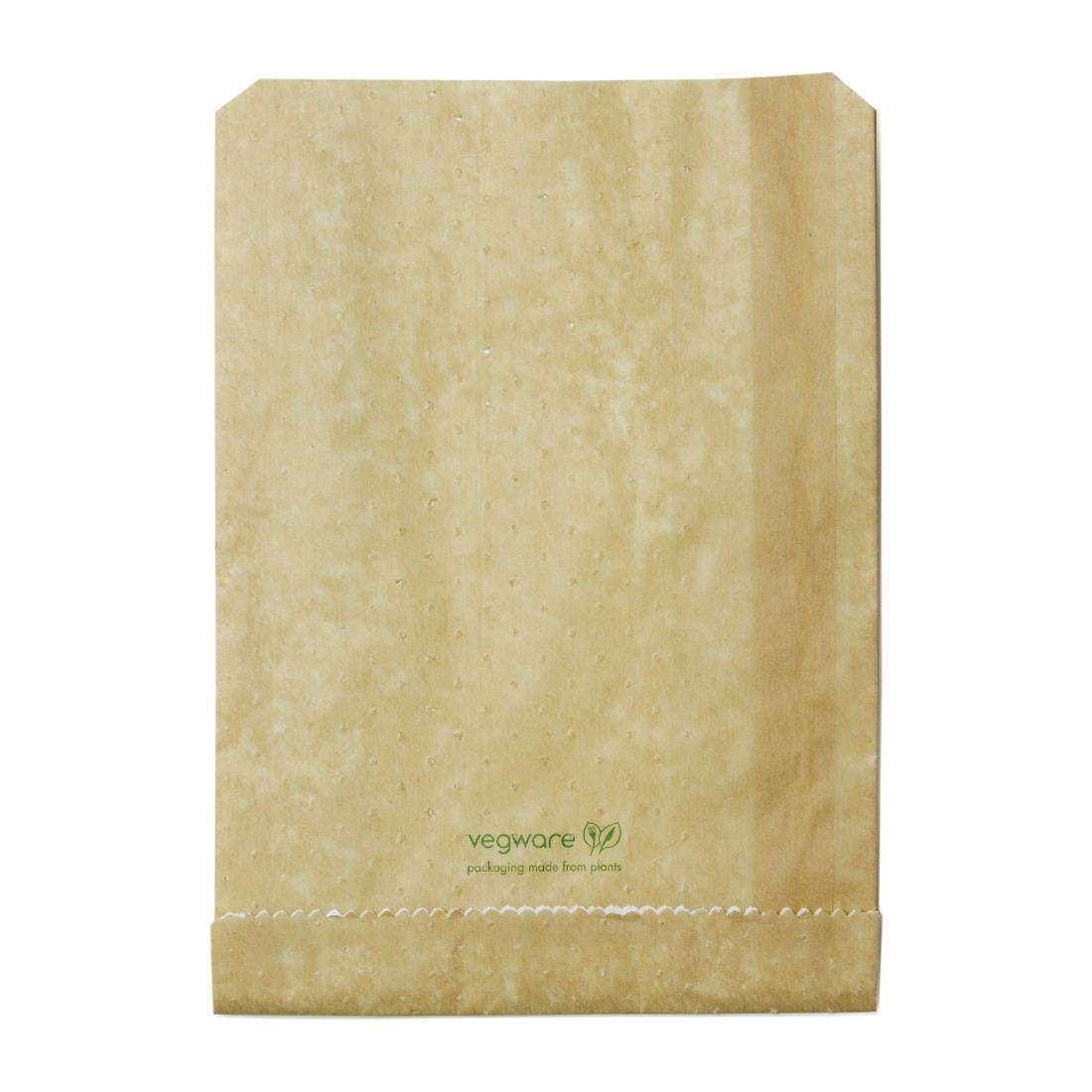 Image of Vegware Compostable Therma Paper Hot Food Bags 229 x 165mm (Pack of 500) Pack of 500