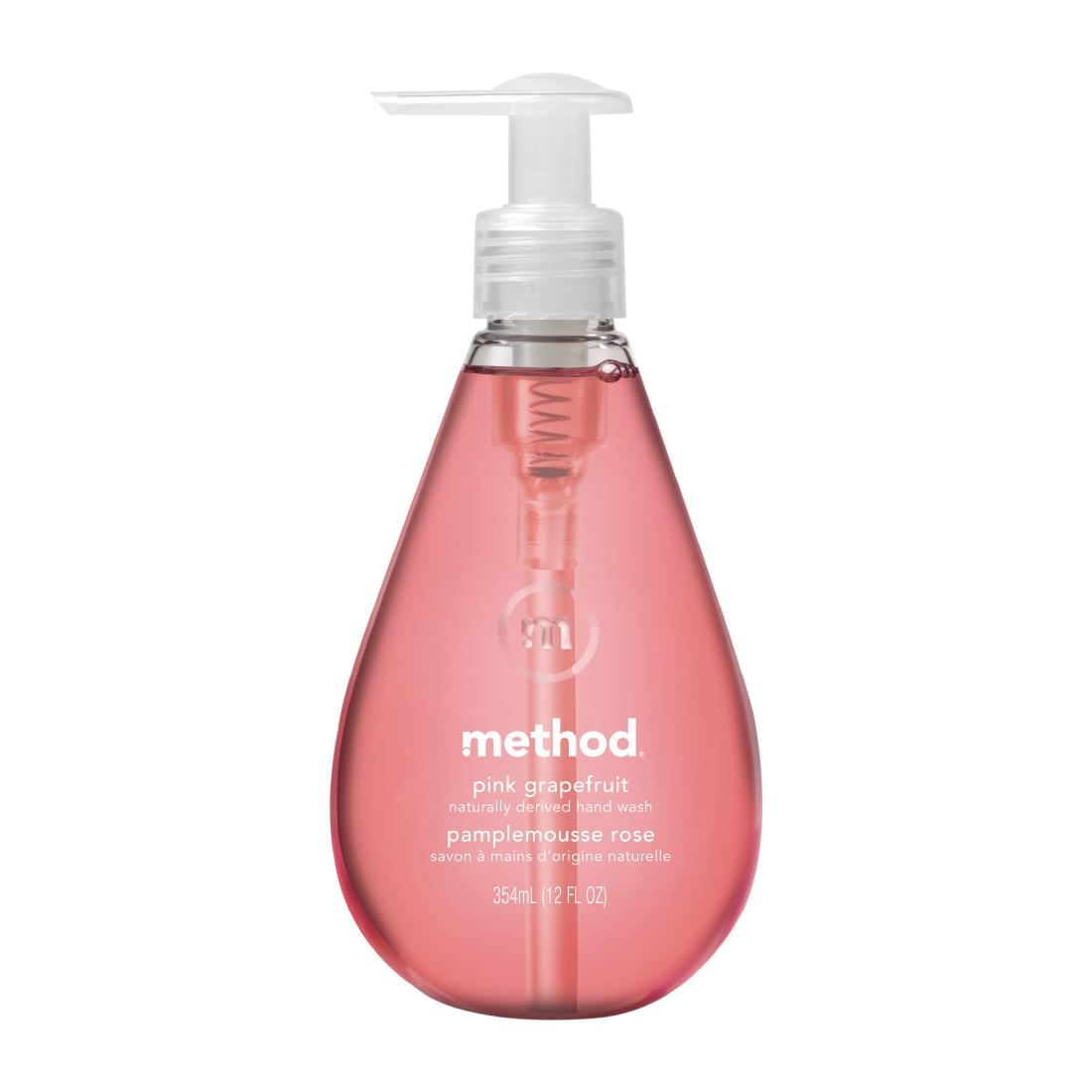 Image of Method Perfumed Liquid Hand Soap Pink Grapefruit 354ml (6 Pack) Pack of 6