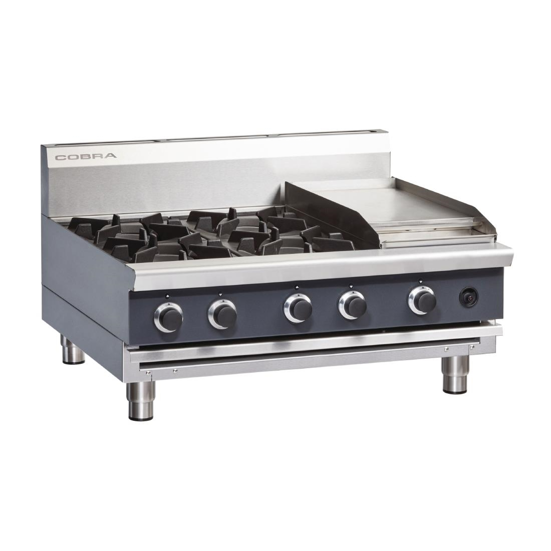 Image of Cobra Countertop LPG Hob with Griddle C9C-B