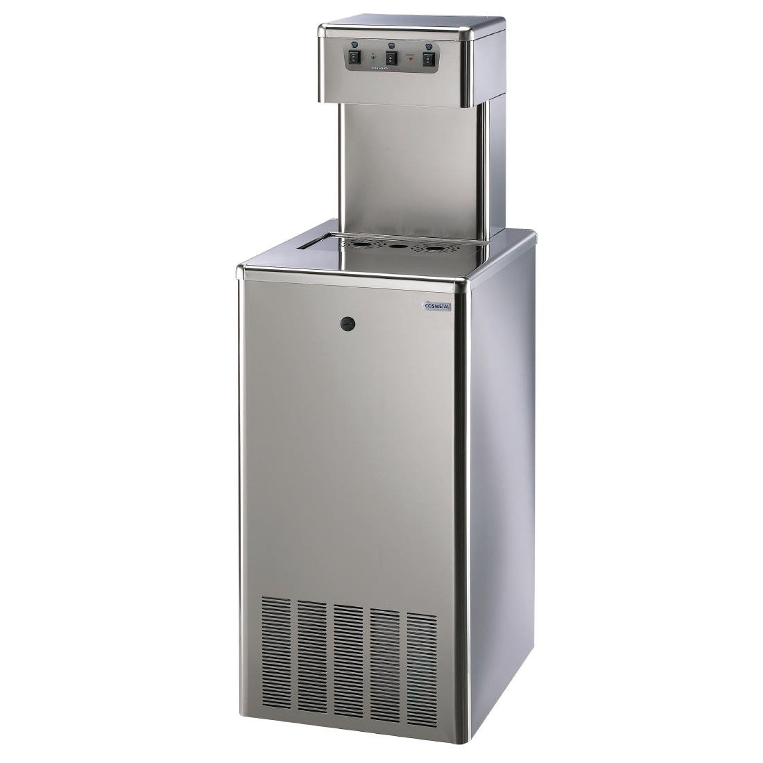 Image of Cosmetal Floor Standing Niagara Water Cooler 120 IB AC with Install Kit