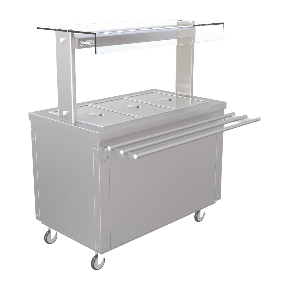Image of Parry Hot Cupboard with Heated Bain Marie 1160mm FS-HB3PACK