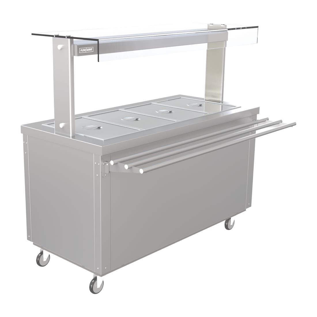 Image of Parry Hot Cupboard with Heated Bain Marie 1495mm FS-HB4PACK
