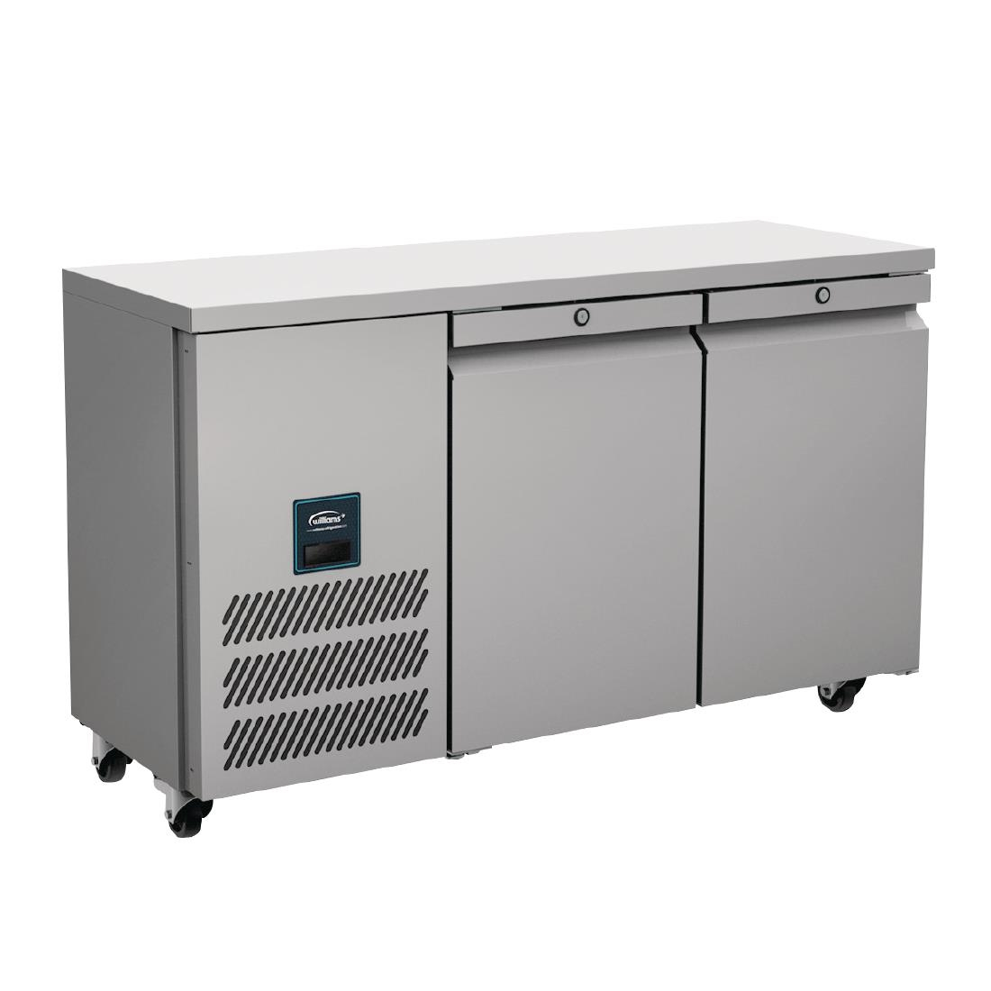 Click to view product details and reviews for Williams Jade Slimline Double Door Freezer Counter 244ltr Ljsc2 Sa.