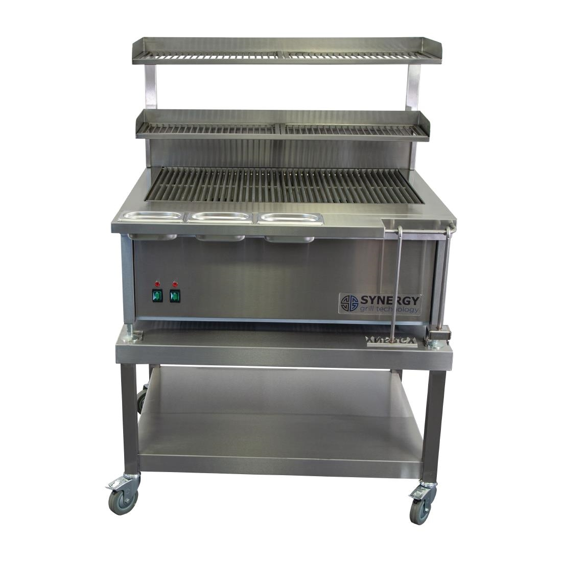Image of Synergy SG900 Deep Grill with Garnish Rail and Slow Cook Shelf