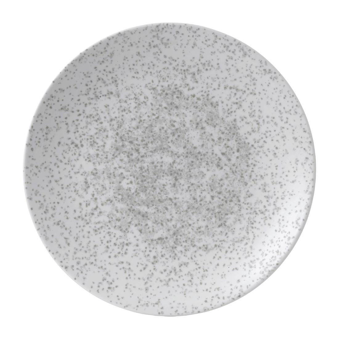 Image of Churchill Art De Cuisine Menu Shades Coupe Plates Caldera Chalk White 289mm (Pack of 6) Pack of 6